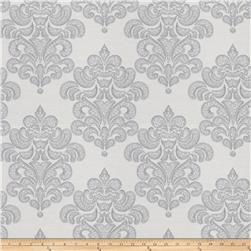 Fabricut Terrific Damask Jacquard Platinum