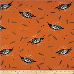 Birch Organic Charley Harper Western Birds Interlock Knit Mountain Quail