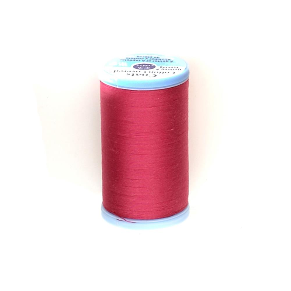 Coats & Clark Cotton Covered Quilting & Piecing Thread 500 YD Red Rose