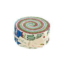 Moda Ho! Ho! Ho! 2.5 In. Jelly Rolls Multi