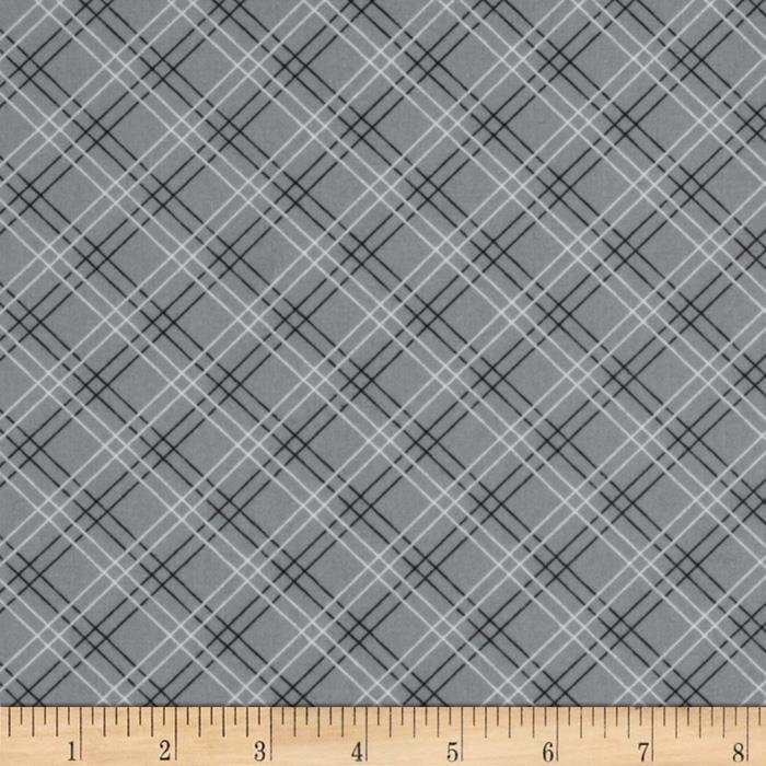 Cruzin' Plaid Grey