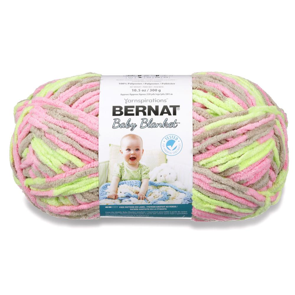 Bernat Baby Blanket Big Ball Yarn (04402) Little Girl Dove ...