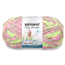 Bernat Baby Blanket  Big Ball Yarn (04402) Little Girl Dove
