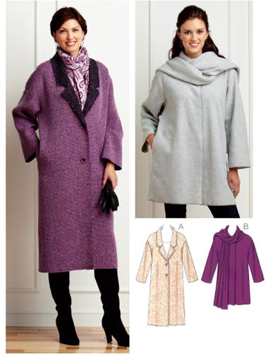 Kwik Sew Misses Coats Pattern