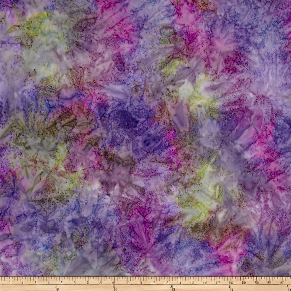 Kaufman Artisan Batiks Patina Handpaints Mottled Hyacinth