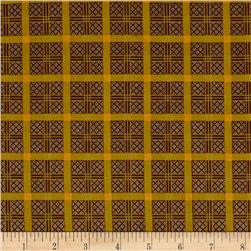 Elizabethtown Plaid Brown Mustard