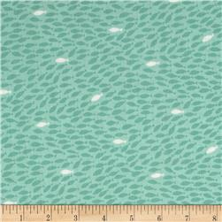 Nautical Fish Teal