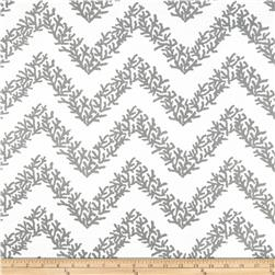 RCA Coral Chevron Sheers Grey