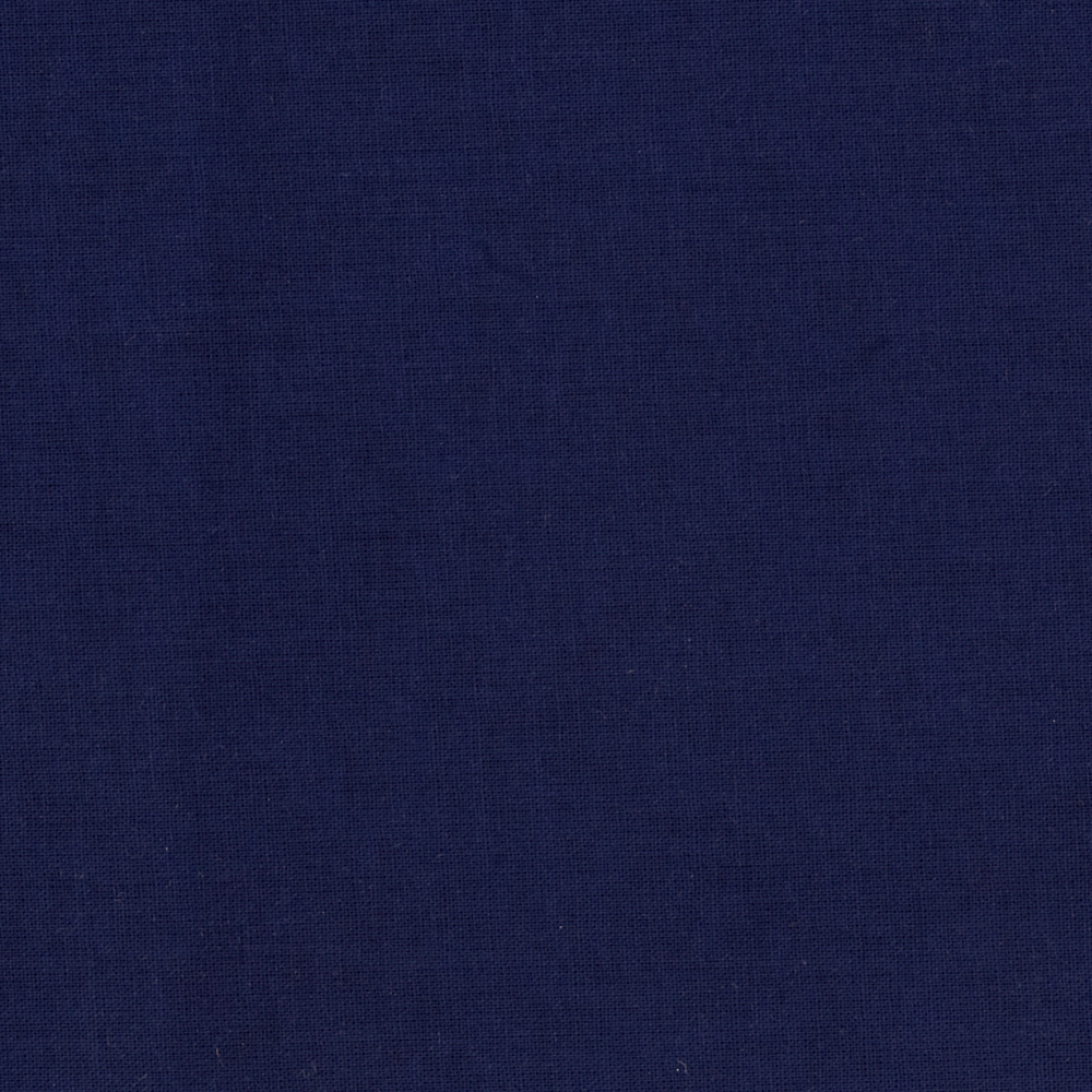 American Made Brand Solid Light Navy Fabric by Clothworks in USA