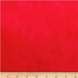 Michael Miller Minky Solid Cherry Red
