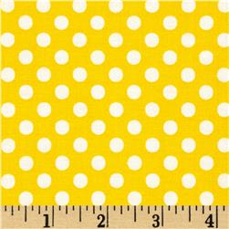 Moda Dot .Dot.Dash-! Dots Everywhere Yellow