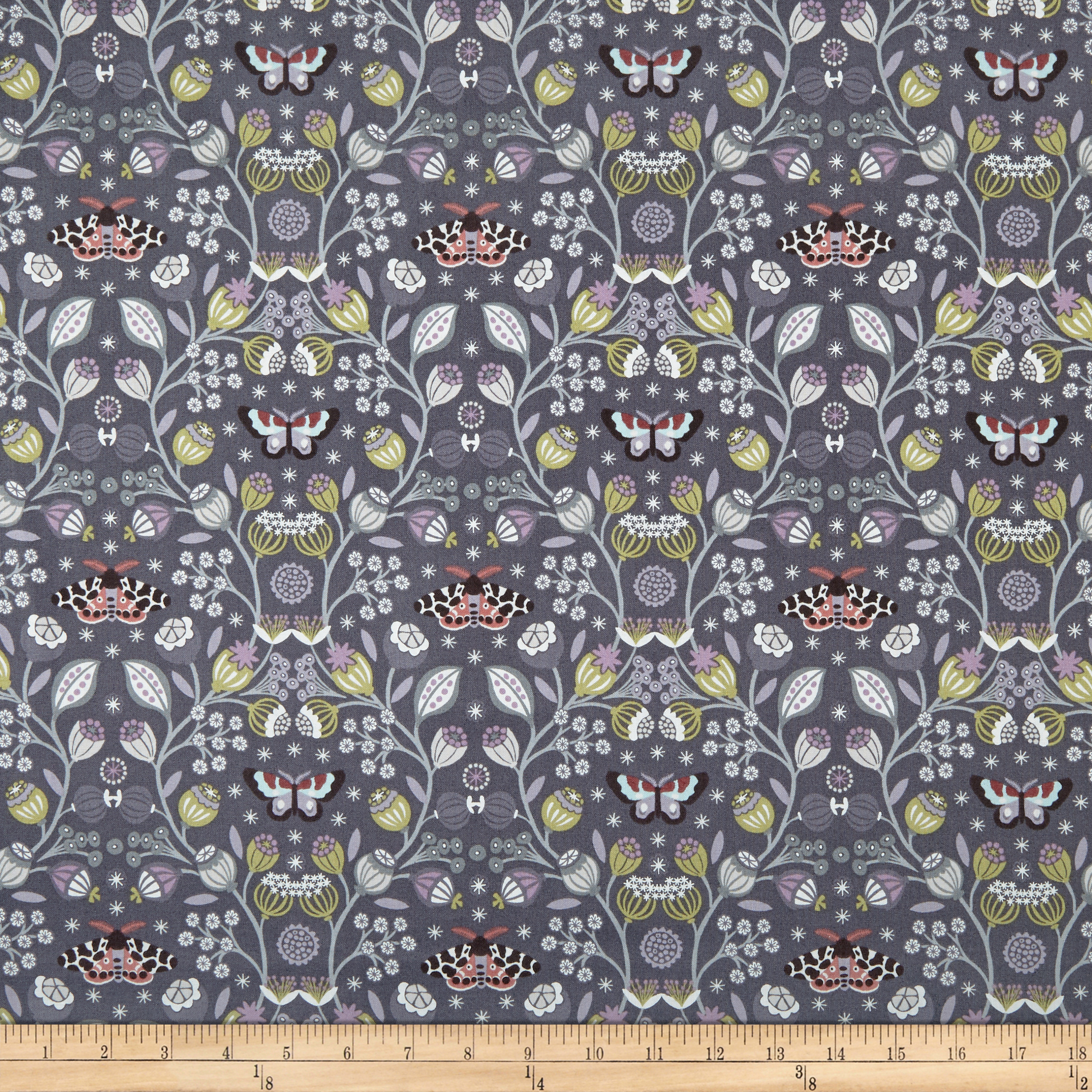 INOpets.com Anything for Pets Parents & Their Pets Lewis & Irene Winter Garden Winter Garden Dark Fabric