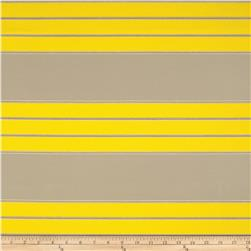 Robert Allen Sunbrella Polo Beach Stripe Canary