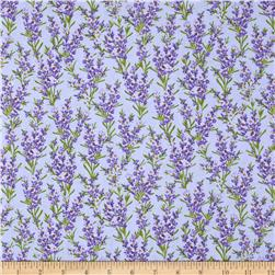 Timeless Treasures Florals Lavender