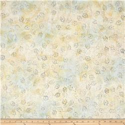 Wilmington Batiks Dancing Leaves Ivory