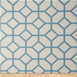Fabricut 50154w Warwick Wallpaper Harbor Blue 02 (Double Roll)