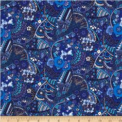 Liberty Lifestyle Stile Collection Mackintosh Blue