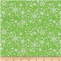 Contempo Mulberry Lane Snowflake Green