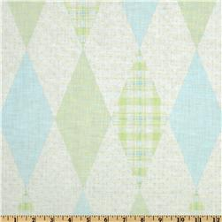 Baby Business Argyle Blue/Green