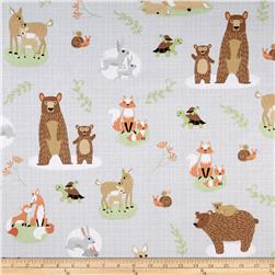 Sweet Meadow Flannel Mamas & Babies Gray