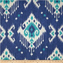 Magnolia Home Fashions Dakota Ikat Ocean Fabric