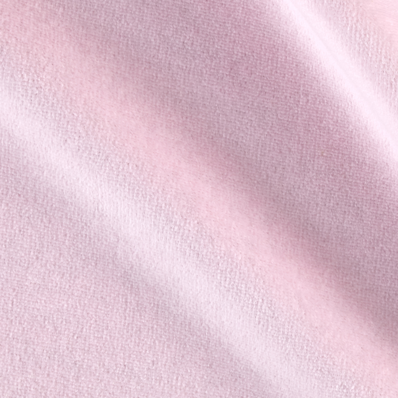 Solid Velour Pink Fabric by Mike Cannety in USA