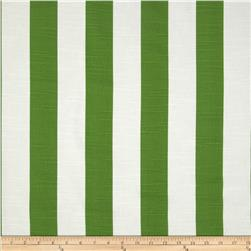 Premier Prints Stripe Slub Coastal Green
