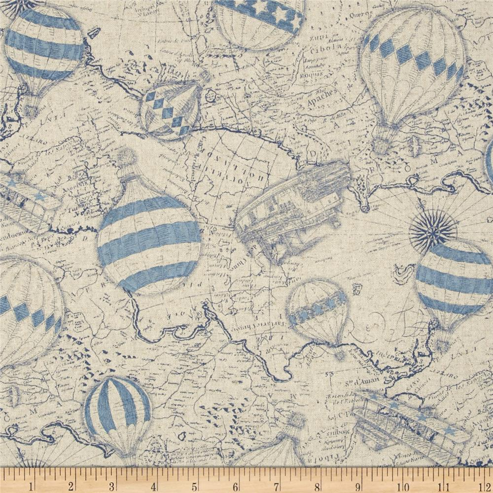 Cotton fabric linen bty old world map magellan linen upholstery cotton fabric linen gumiabroncs
