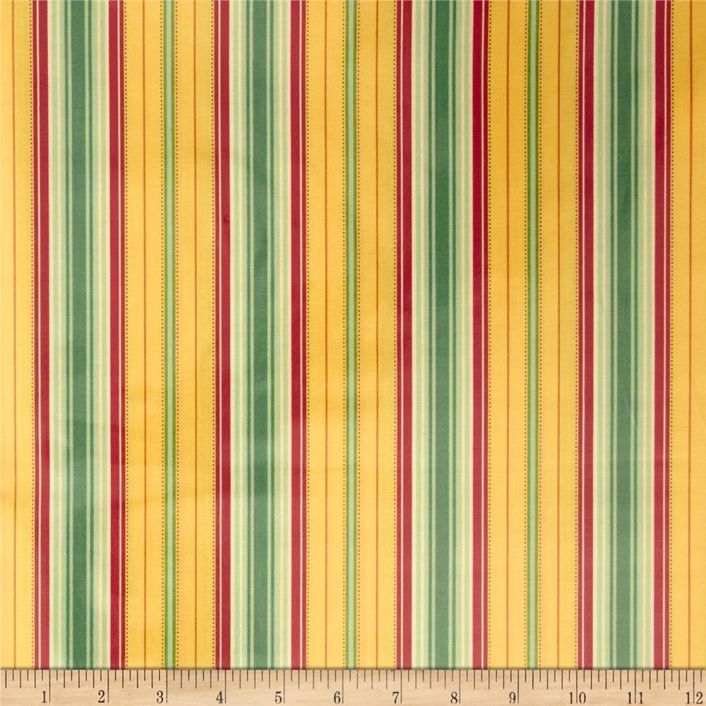 Heather Bailey Laminate Freshcut Lounge Stripe Gold