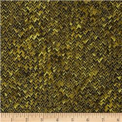 Kanvas Sunflower Fields Metallic Basketweave Olive