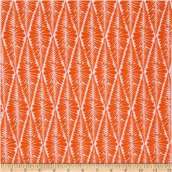 Valori Wells Ashton Road Flannel Fern Stripe Creamsicle