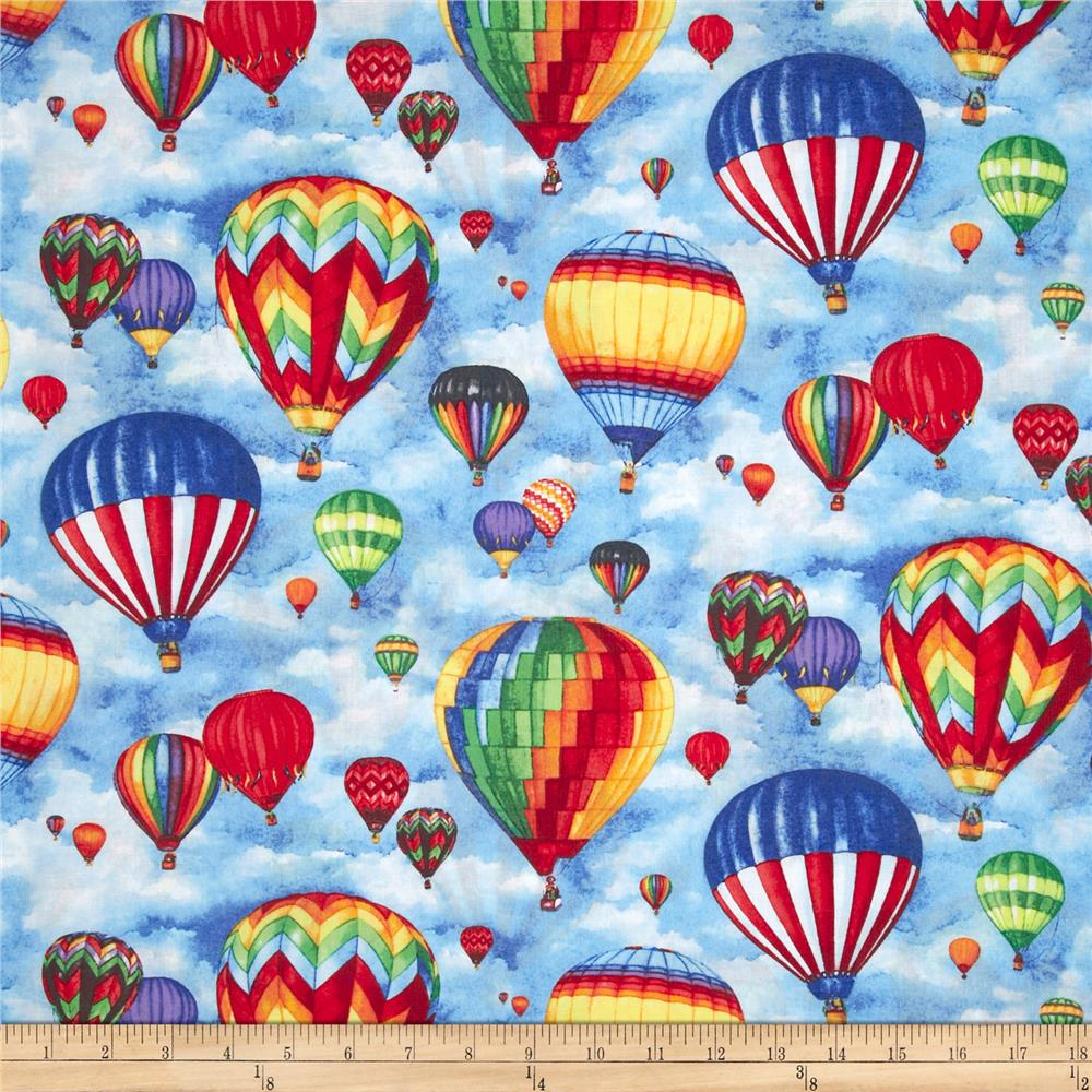 Up in the Air Balloons Sky/Blue