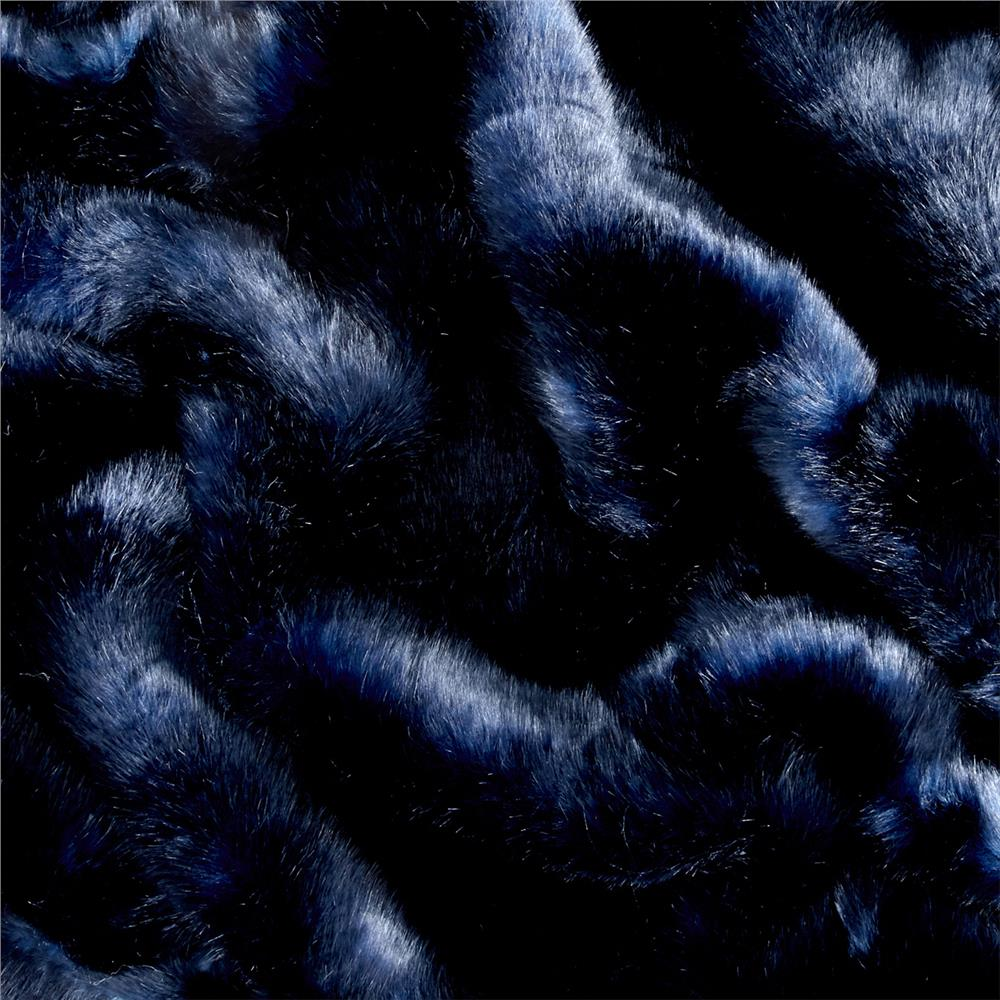 Tissavel Volga Fur Discharged Midnight
