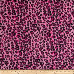 Fleece Print Geo Pink/Black/Magenta