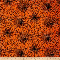 Bonehead Spiderwebs Dark Orange