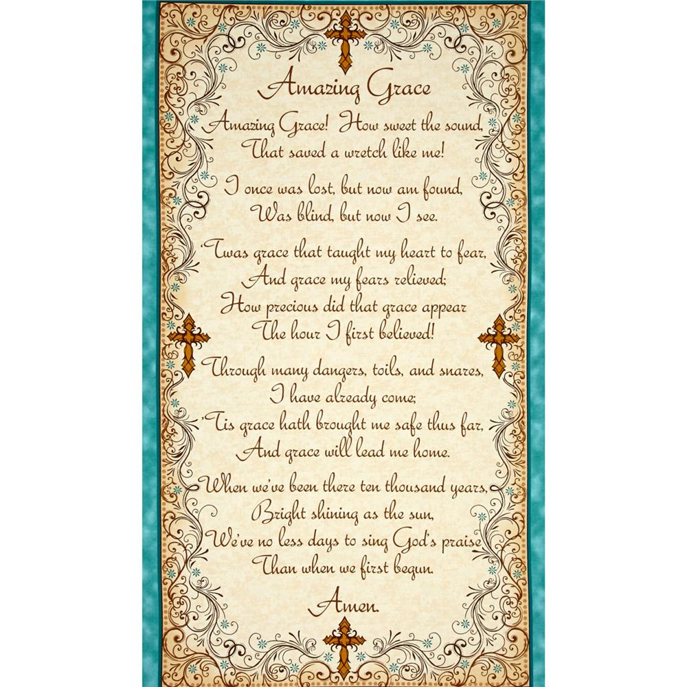 Amazing Grace: Amazing Grace Panel Beige