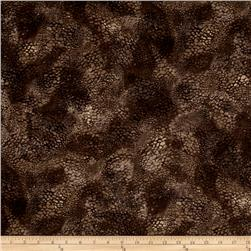 Enchanted Pines Pebble Texture Brown