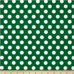 Michael Miller Kiss Dot Spearmint Fabric