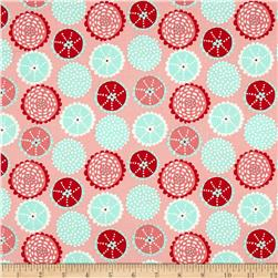 Moda Coral Queen Of The Sea Coral Kaleidoscope Pink