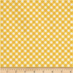 Riley Blake Hello Sunshine Plaid Yellow