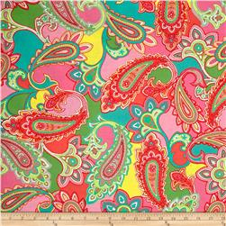 Bahama Breeze Paisley Punch Pink/Coral
