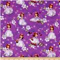 Disney Sofia the First Scenic Toss Purple