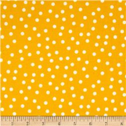 Remix Flannel Dots Sunshine