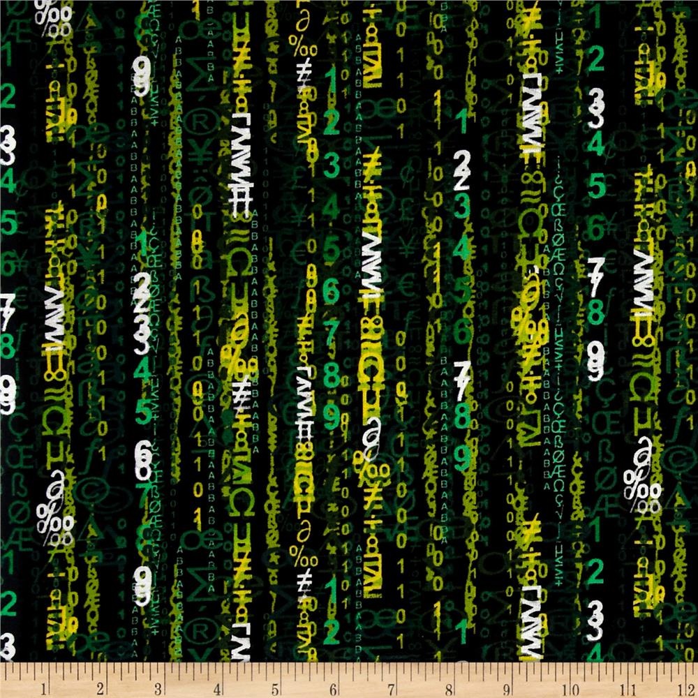 Computer Matrix Green