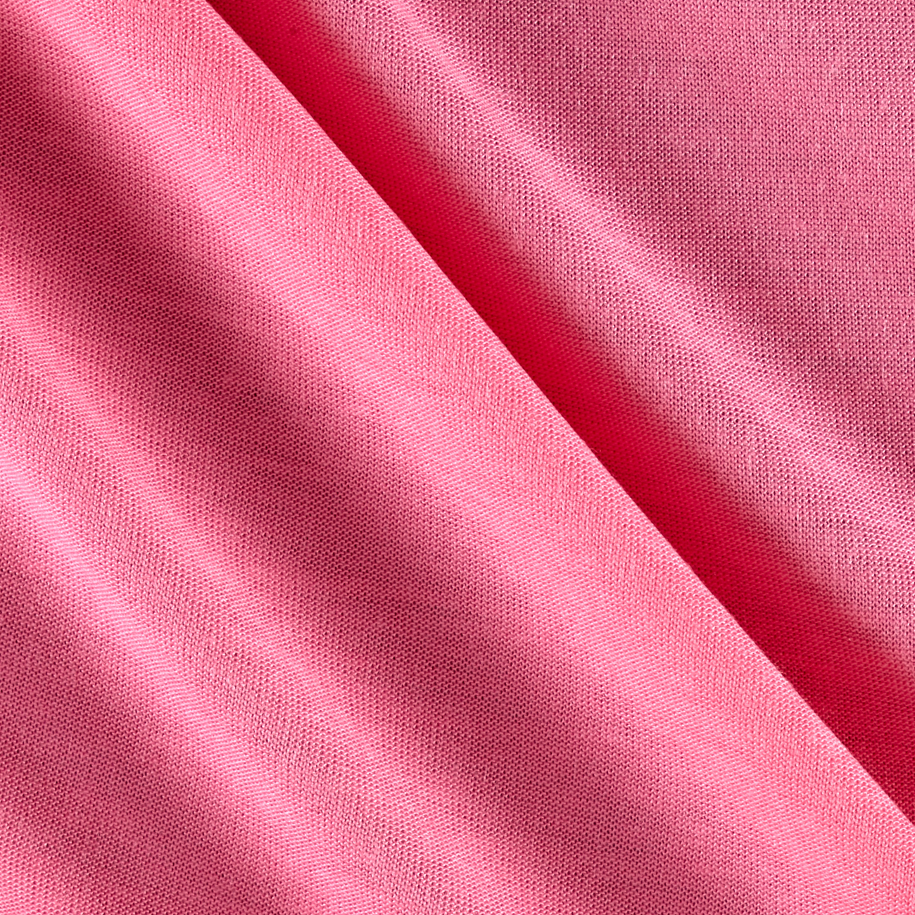 Tencel Solid Knit Flamingo Pink Fabric By The Yard