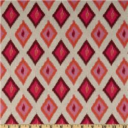 Premier Prints Carnival Blend Oatmeal/Rosa Fabric