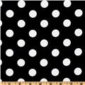 Forever Large Polka Dot Black