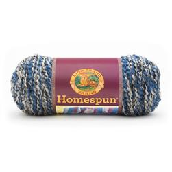 Lion Brand Homespun Yarn 602 Blue Moon