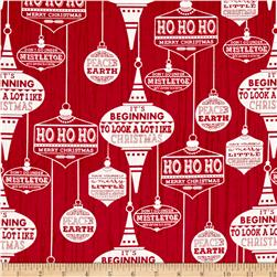 Holiday Traditions Ornaments Red