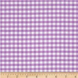 Riley Blake Medium Gingham Lavender